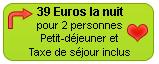39 Euros la nuit